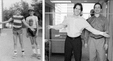 The partnership between Partners Jack Harari & Barry Weidenbaum began in elementary school.